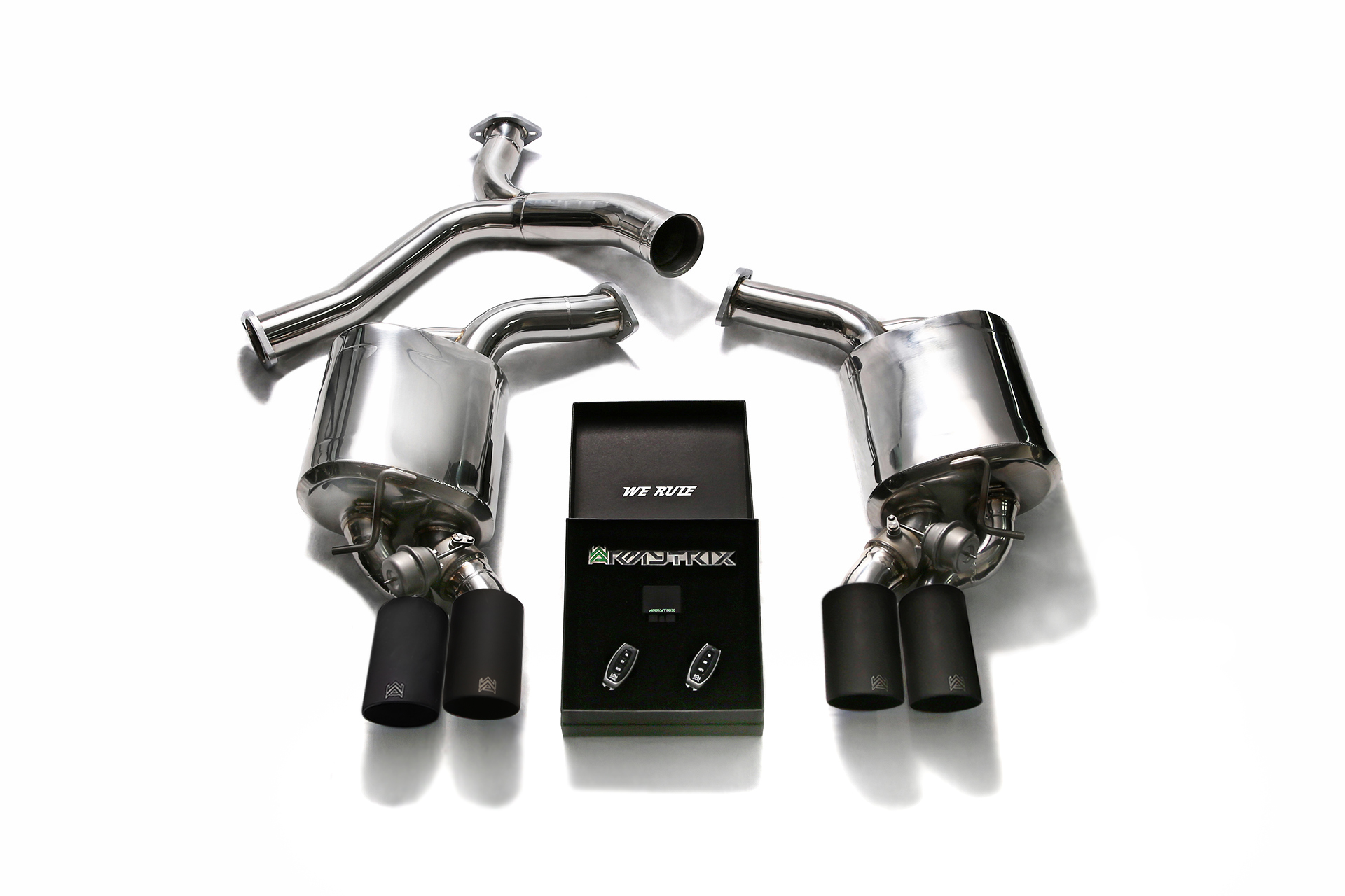 W205 C200 C250 C300 2wd Exhaust System Armytrix Uk